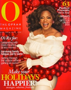 This is the magazine where Heritage Makers was listed as one of Oprah's All-Time Favorite Gifts for under $100